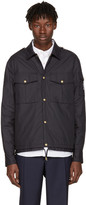 Moncler Gamme Bleu Navy Short Military Jacket