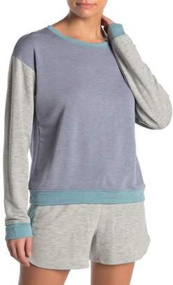 X Project Social T Colorblock Fleece Sweatshirt