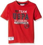 US Polo Association U.S. Polo Assn. Unisex Child Team Uspa Ss T-Shirt,size 2