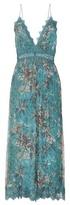 Zimmermann Tropicale Crinkle silk jumpsuit