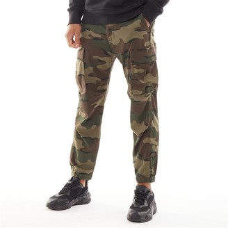 Levi's Tapered Cargo Trousers Wave Camo Wild Coffee