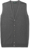 Incotex - Knitted Cotton Sweater Vest