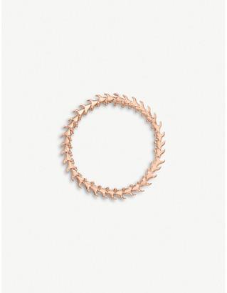 Shaun Leane Serpent Trace slim rose gold-plated vermeil silver bracelet