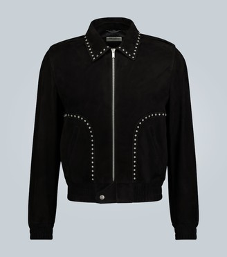 Saint Laurent Suede studded jacket