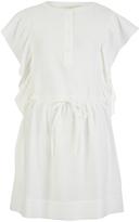 Vanessa Bruno Women's Ewenn Ruffle Dress Ivory