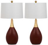 Safavieh Medallion Table Lamps (Set of 2)