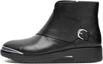 FitFlop Chiarra Buckle Leather Ankle Boots