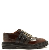 Burberry Doherty multi-strap leather brogues