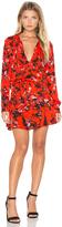 Karina Grimaldi Pilar Print Mini Dress