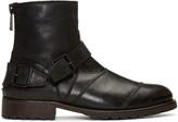 Belstaff Black Trailmaster Boots