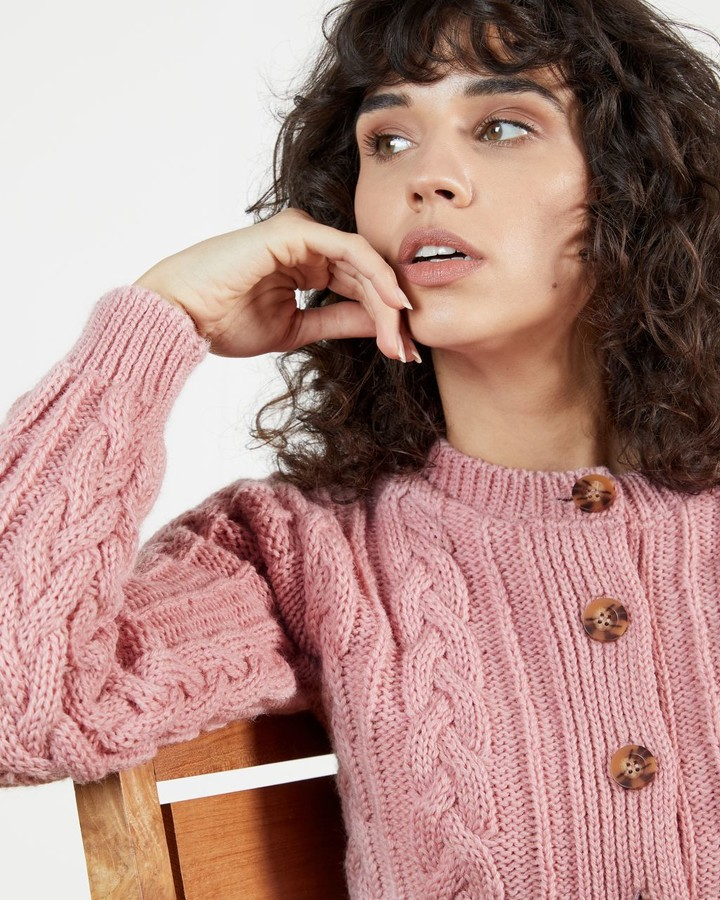Thumbnail for your product : Ted Baker Knitted Wool Cardi
