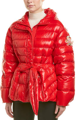 Moncler Lolly Laquer Down Coat