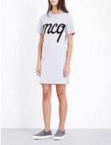 McQ by Alexander McQueen appliqué cotton-jersey t-shirt dress