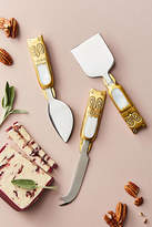 Anthropologie Larissa Cheese Knife Set