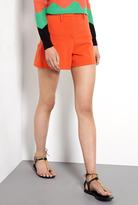 Sonia Rykiel Sonia by Front Pleat Jersey Shorts