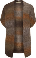 Isolde Roth Plus Size Knitted open cut cardigan