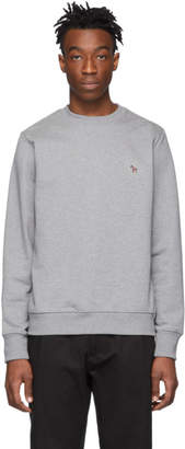 Paul Smith Grey Zebra Sweatshirt