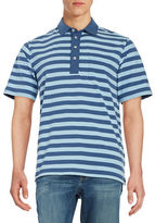 Duck Head Footwear Striped Polo