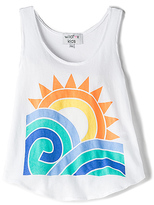 Wildfox Couture Sun and Surf Tank in White. - size 4T (also in 5/6T)