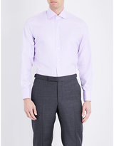 Emmett London Slim-fit Cotton-twill Shirt