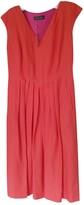 Loro Piana Orange Linen Dress for Women