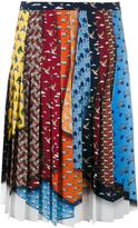 Mary Katrantzou 'King' animal tie skirt - women - Polyester - 12