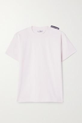 Balenciaga Cotton-jersey T-shirt - Pastel pink
