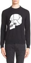 The Kooples Men's Intarsia Skull Pullover