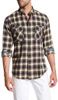 James Campbell Dalton Plaid Long Sleeve Regular Fit Shirt