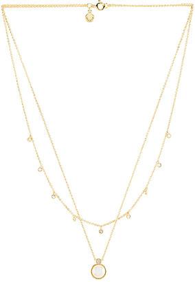 Gorjana Eloise Gem Layered Necklace