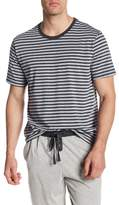 Daniel Buchler Striped Crew Neck Tee