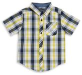 Buffalo David Bitton Boys Sonota Plaid Shirt