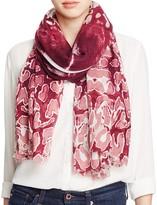 Lola Rose Aquarius Leopard Print Wool Scarf