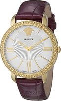 Versace Women's VQQ020015 New Krios Analog Display Quartz Purple Watch