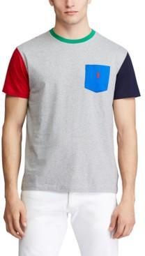 Polo Ralph Lauren Men's Classic Fit Colorblocked T-Shirt