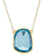 Gurhan One Of A Kind 24k 33.97 Ct. Tw. Blue Topaz Necklace.