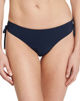 Letarte Mystique Tie-Side Solid Swim Bottom, Seafoam