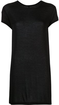 Rick Owens sheer longline T-shirt