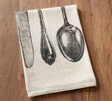 Pottery Barn Utensil Flour Sack Tea Towel