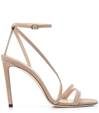 Jimmy Choo Tesca 100mm high heel sandals
