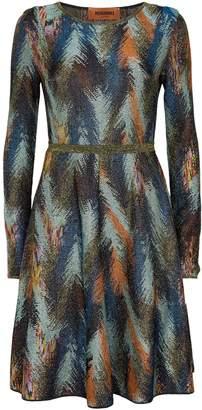 Missoni Zigzag Mini Dress
