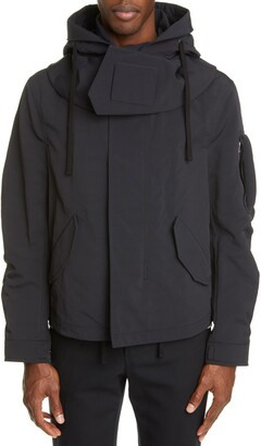 Bottega Veneta Tech Hooded Jacket