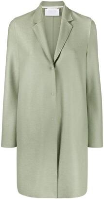 Harris Wharf London Cocoon virgin wool coat