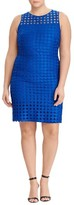 Lauren Ralph Lauren Plus Size Women's Circle Lace Sheath Dress