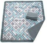 JJ Cole Outdoor Blanket - Gray Links - 5 x 5'