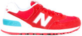 New Balance WL574 sneakers - women - Leather/Polyester/Suede/rubber - 5