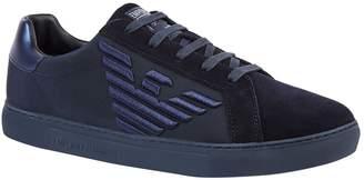 Emporio Armani Eagle Embroidered Sneakers
