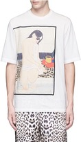 3.1 Phillip Lim Sunglasses Ukiyo-e print T-shirt