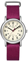Timex Ladies Weekender Silvertone Watch