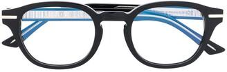 Cutler & Gross Oval Frame Glasses